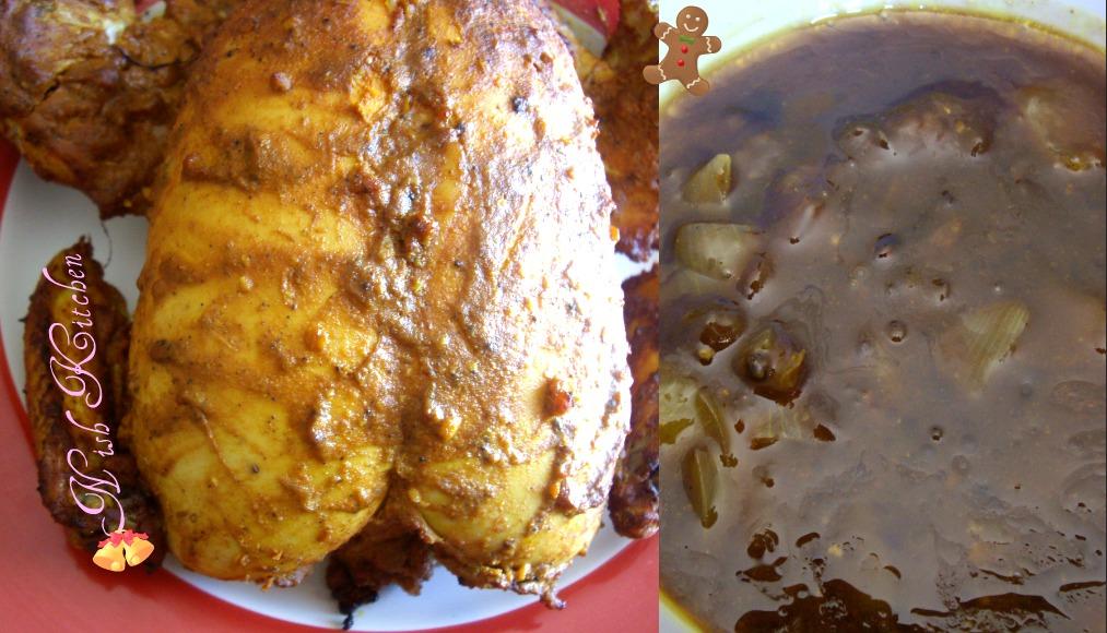Jamie Oliver S Empire Roast Chicken Nish Kitchen My Cooking Adventures