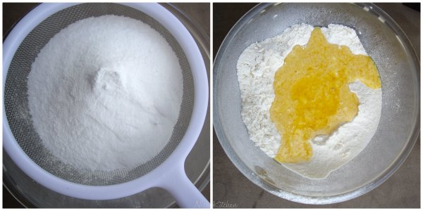 Dry ingregients for tea cake
